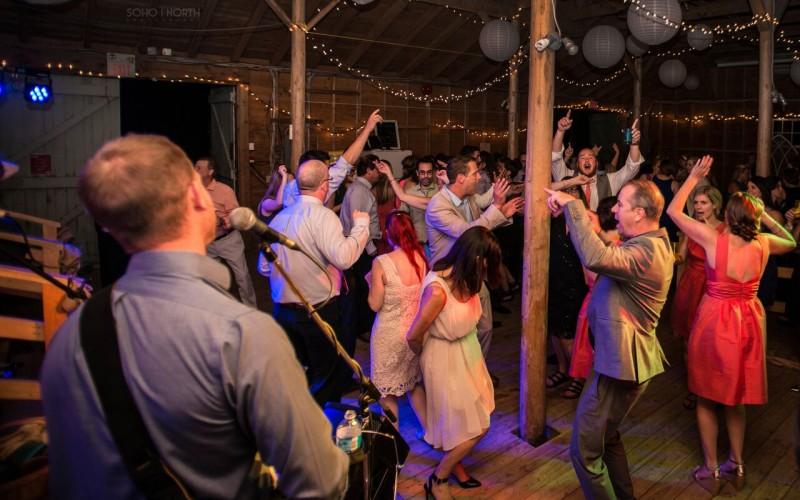 Dancing at the Hubbards Barn